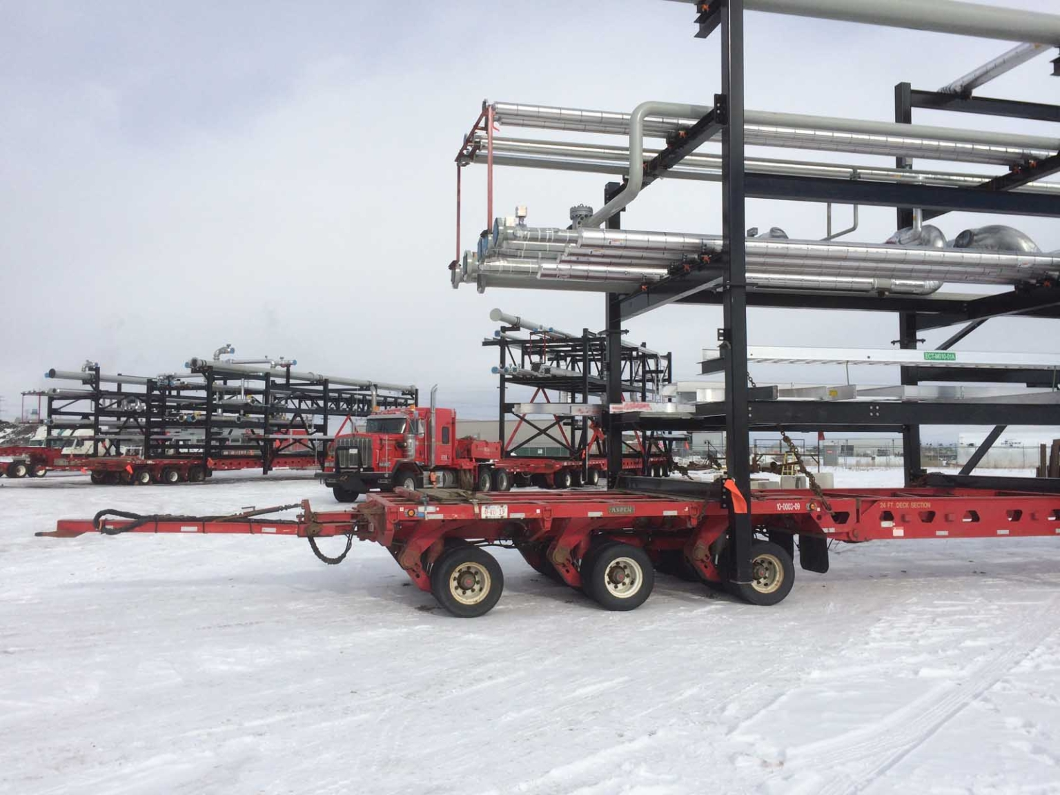 Oil and Gas installation prep