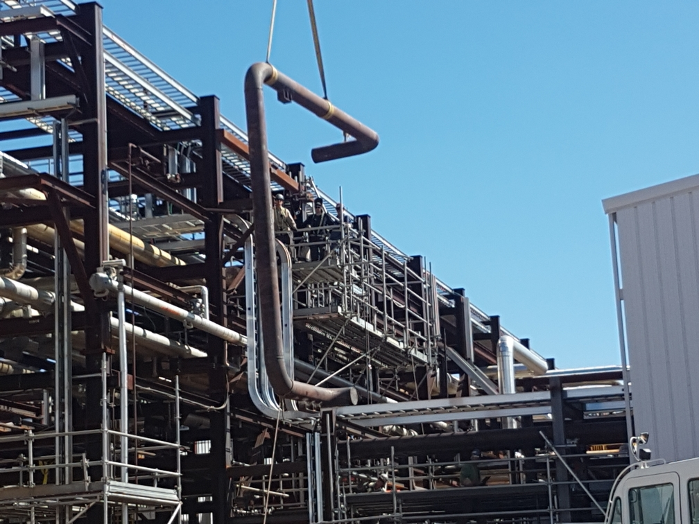 Oil and Gas installation